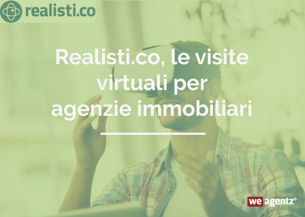 Realisti.co, le visite virtuali per agenzie immobiliari