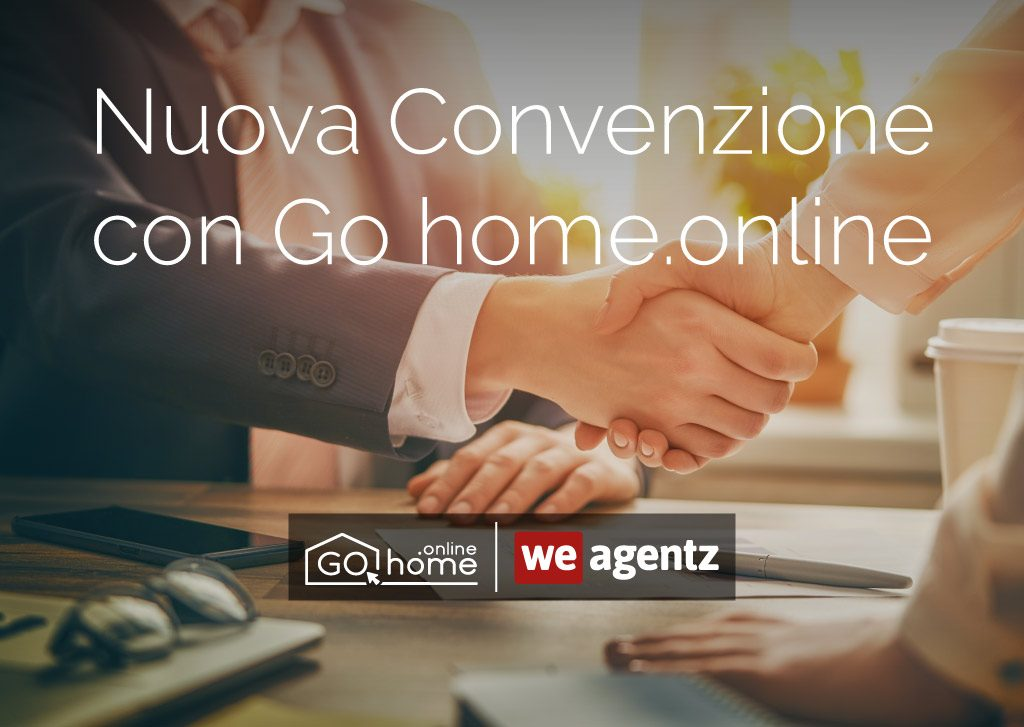 Nuova convenzione con Go home.online